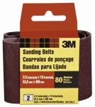 2-Pk., 2.5 x 16-In. 80-Grit Heavy-Duty Sanding Belt