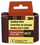 2-Pk., 2.5 x 16-In. 50-Grit Heavy-Duty Sanding Belt