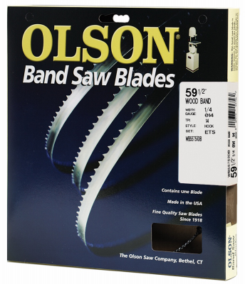 Olson 14 Tpi Bench Top Band Saw Blade 1 4 X 59 1 2in 55759