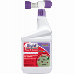 Eight Insect Control Yard & Garden Insecticide, Hose End, 32-oz.
