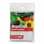 Plant Labels, 4-In., 50-Pk.