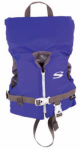 Classic Series Life Jacket. Blue Nylon, Infant Under 30-Lbs.