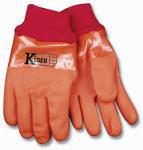 Large Men's Winter Lined Full PVC Gloves