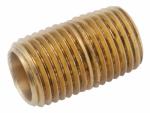 3/8-Inch x Close Yellow Brass Nipple