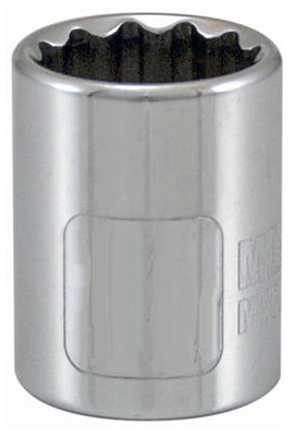 APEX TOOL GROUP-ASIA 3/8-Inch Drive 7/16-Inch 12-Point Socke