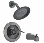 Windemere Bronze Single-Handle Tub/Shower Faucet + Showerhead
