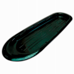 Kodiak Sled, Black Plastic, 66-In., Must Purchase in Quantities of 6