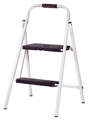 Gorilla Ladders 2 Step Skinny Mini Step Stool Gorilla