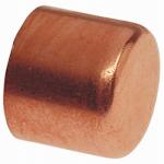 Pipe Fitting, Wrot Copper Cap, 1-In.