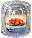 EZ Foil Roaster Pan, Holds 25-Lbs., 16-1/2 x 2-1/2-In., Must Purchase in Quantities of 12