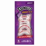 Dingo Ring-o-o Dog Treats, Rawhide, 5-Pk.