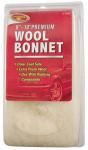 Polishing Bonnet, Synthetic Wool, 9-10-In.