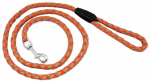 Dog Lead Leash, Orange Reflective, 6-Ft.