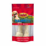 Gourmet Dog Treats, Rawhide Bone, 10-11-In., 2-Pk.