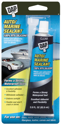 Dap Silicone Rubber Auto-Marine Sealant 00694