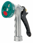 Select-A-Spray Hose Nozzle, 7 Patterns, Metal