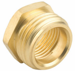 Gilmour 3/4M - 1/2F Brass Connector