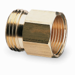 Gilmour 3/4M 3/4F Brass Connector