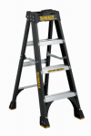 Fiberglass Step Ladder, 300-Lbs., Type IA, 4-Ft.