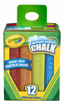 Cray12CT Sidewalk Chalk, Must Purchase in Quantities of 2
