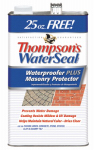 Waterproofer Plus Masonry Protector, 1.2-Gal., Must Purchase in Quantities of 4