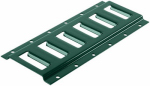 """12"""" Horizonal E-Track, Green Finish, Must Purchase in Quantities of 12"""