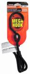 Mega Hook Bungee Cord, Black, 48-In.