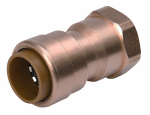 Adapter Pipe Fitting, 1/2-In. Copper x 1/2-In. Female Thread