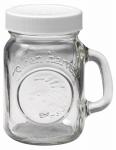 Salt & Pepper Shaker, Clear Glass, 4-oz.