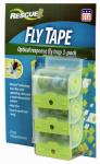 Fly Tape, Visilure, Indoor & Outdoor, 3-Pk.