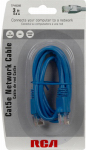 Cat5 Network Cable, Blue, 3-Ft.