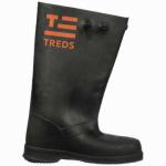 Slush Boots, Black, 17-In., Men's Size 8-10