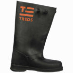 Slush Boots, Black, 17-In., Men's Size 13-14