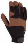 Dex II Work Gloves, Genuine Leather & Spandex, Medium