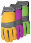 Max Performance Synthetic Palm Glove, Neoprene Knuckle, Womens' Medium,