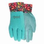 Canvas Dot Gardening Gloves, Women's,