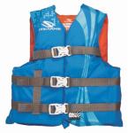 Watersport Classic Floatation Vest, Blue & Orange, Youth