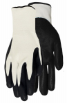 Work Gloves, Nitrile Palm With Poly Liner, Men's One Size, 5-Pk.