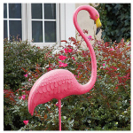 Featherstone Flamingo Statue, Standing, 52-In.