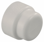 Underground Sprinkler End Cap, 1/2-In. PVC Lock