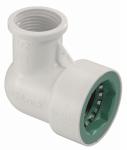 Underground Sprinkler Elbow, 3/4-In. PVC Lock x 1/2-FPT