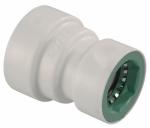 Underground Sprinkler Reducer Coupling, 3/4-In. x 1/2-In. PVC Lock