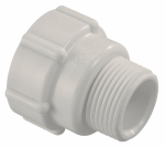 Underground Sprinkler Adapter, 1 PVC Lock x 1-In. MPT