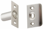 Cabinet Closure, Ball Catch, Satin Nickel, 1 x 2-1/8-In.