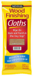 Wood Stain Cloths, Natural Oak, Covers 50-Sq. Ft., Must Purchase in Quantities of 6