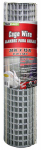 Galvanized Welded Wire Fence, 24-In. 15-Ft.