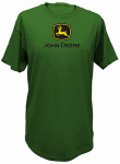 John Deere T-Shirt, Short Sleeve, Green, Men's XL