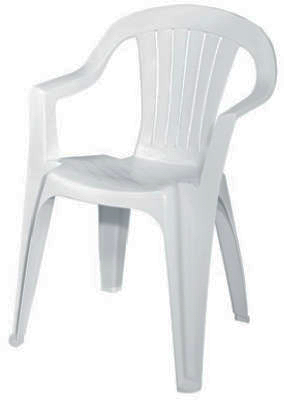 Quick View  sc 1 st  Midland Hardware & Adams White Matte Finish Low Back Stacking Chair 8234-48-3704