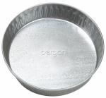 Pet Dish, Galvanized, 3-Qts.