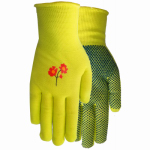 Ladies Knit Liner Gloves With Gripping Dots
